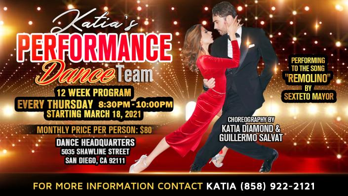 Katia's Performance Dance Team