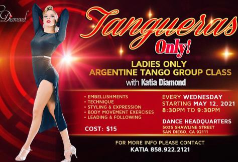 Ladies Only Argentine Tango Class